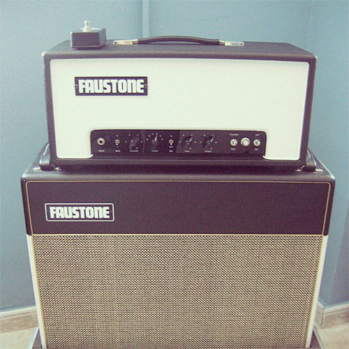 Faustone Dirty Teen 18W tube amp with matching 2x12 cabinet