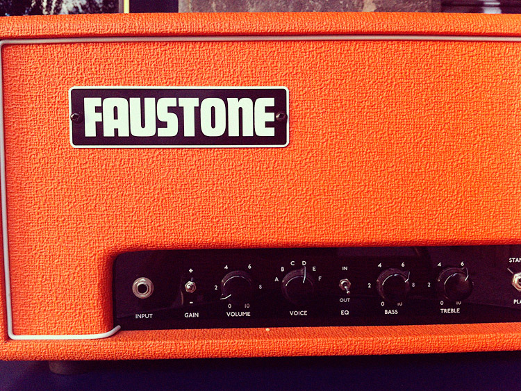 Faustone Dirty Teen orange tolex